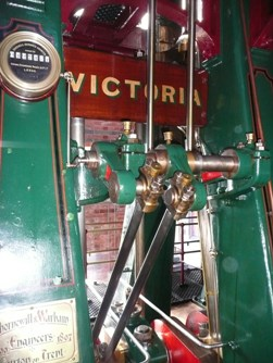 Vertical triple expansion steam engine at The Bratch Credit: © Friends of The Bratch