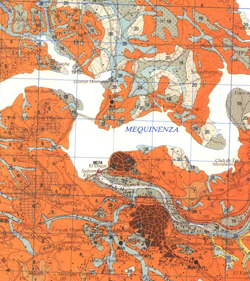 Geological Map of Spain - Extract