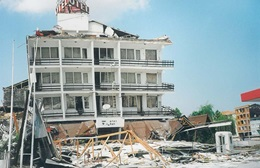 Damage sustained after the 1999 Düzce Earthquake