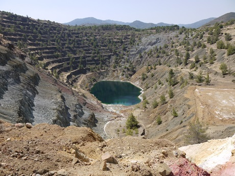 The Apliki Mine, NW Troodos