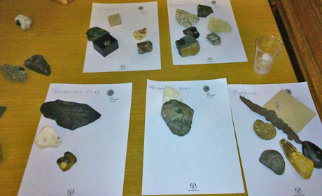 Rock classification at tea
