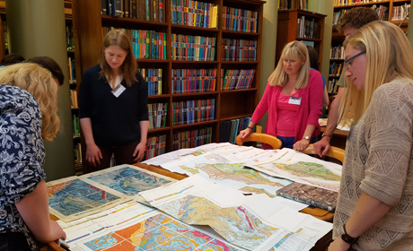 Geological maps in the Library