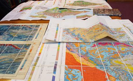 Maps in the Library