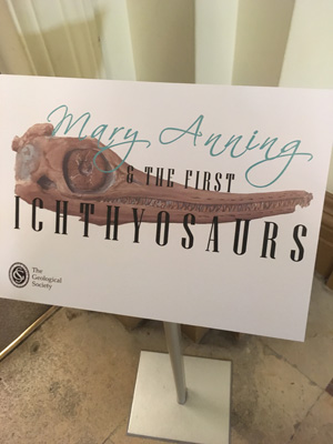 Mary Anning - a talk by Tom Sharpe