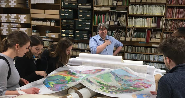 A Tour of the Map Room