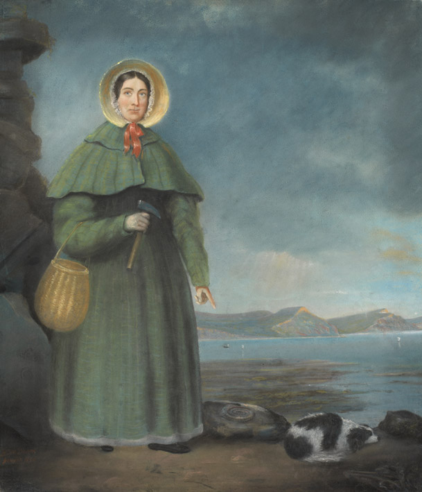 Portrait of Mary Anning