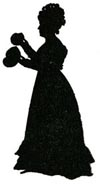 Mary Buckland silhouette