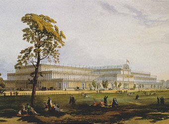 The Crystal Palace at the 1851 Great Exhibition